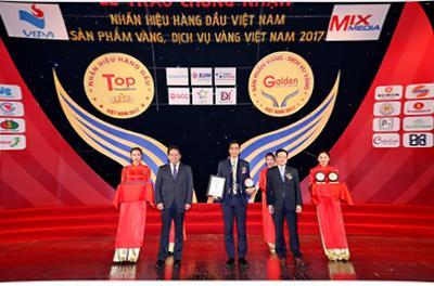 """Tập đoàn GFS vào Top 20 """"Nhãn hiệu hàng đầu Việt Nam năm 2017"""""""